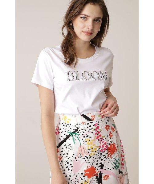 ◆BLOOMビジューロゴTシャツ
