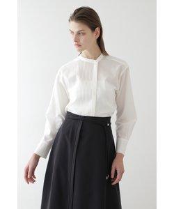 ◆ボイルピンタックシャツ