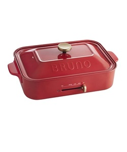 BRUNO(ブルーノ) コンパクトホットプレート レッド