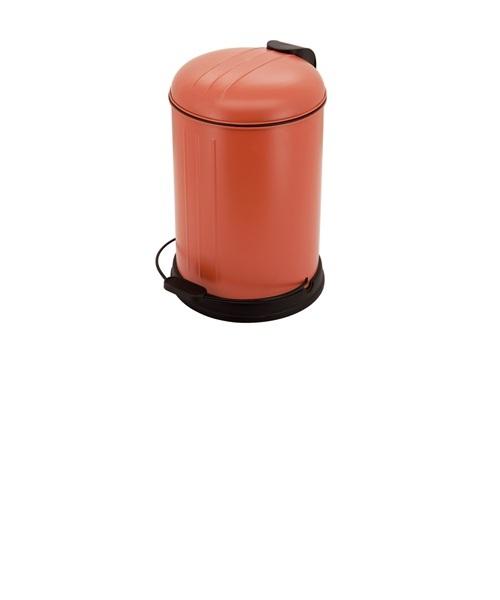 レトロ トラッシュビン 12L オレンジ