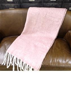 ヘリンボーン スロー ピンク 100×140cm