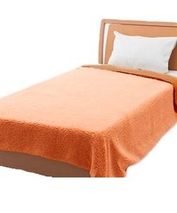 Animal Boa (アニマルボア) 毛布 オレンジ