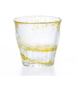 氷華 金彩ロックグラス 麦