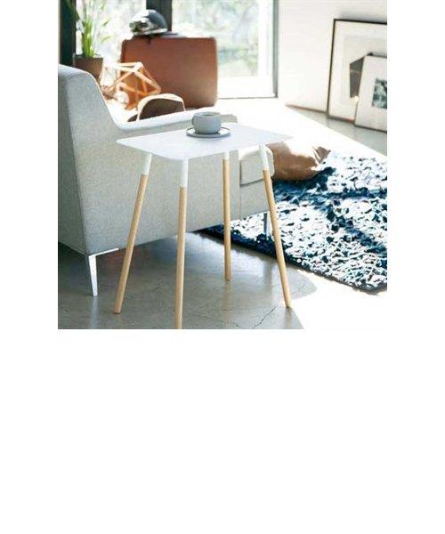 PLAIN(プレーン) サイドテーブル角型 ホワイト
