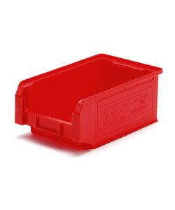 Fami (ファミ) プラスチックコンテナ S レッド