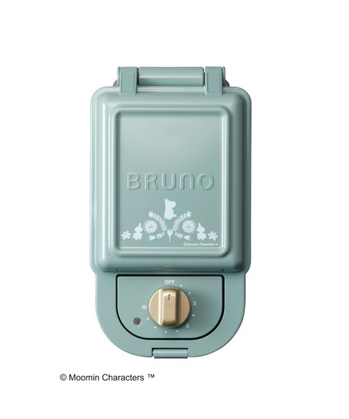 BRUNO (ブルーノ) ムーミン ホットサンドメーカー シングル