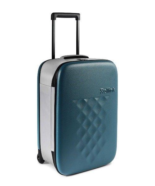 FLEX フォーダブルスーツケース 40L ディープラグーン