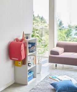 Rin(リン)カラーボックス横 ランドセル&リュックハンガーナチュラル
