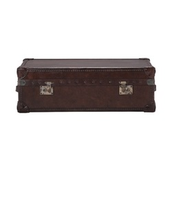 HALO (ハロー) WATSON MEDIUM TRUNK (VINTAGE CIGAR) W90×D59×H30cm