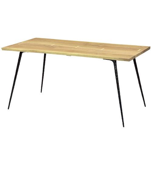 SQUARE ROOTS(スクエアルーツ) NEXA DINING TABLE 1400 RAW OAK BLACK LEG