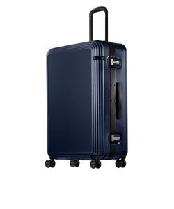 ace. リップルF 外周に沿ったリブが上品なスーツケース 1週間~10泊程度の旅行向け キャスターストッパー機能付き 87リットル  05554