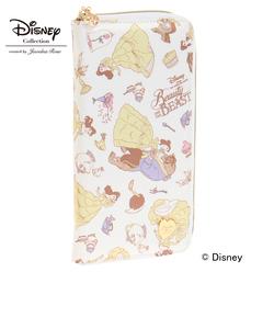 """ジュエルナローズ トロトゥール  ディズニー """"美女と野獣"""" Disney """"Beauty and the Beast"""" Series パスポートケース / 33431"""