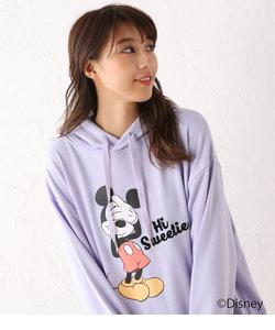MickeyカラーフードチュニックPK