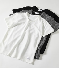 【MEN'S】SLAB PILE V/N T-SHIRTS
