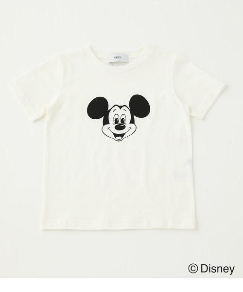 【KIDS】KIDS MICKEY FACE TEE