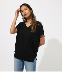 2WAY BUTTON KNIT TOPS