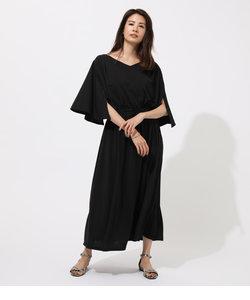 ESPANDY FLARE SLEEVE DRESS