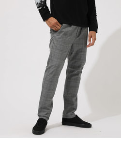 【MEN'S】GRENCHECK RELAX EASY PANTS