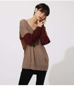 NUDIE V/N LOOSE KNIT TOPS