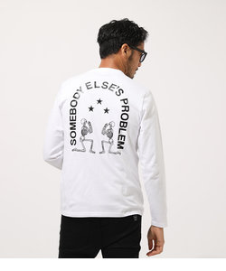 【MEN'S】COUNTED SKULL LONG TEE