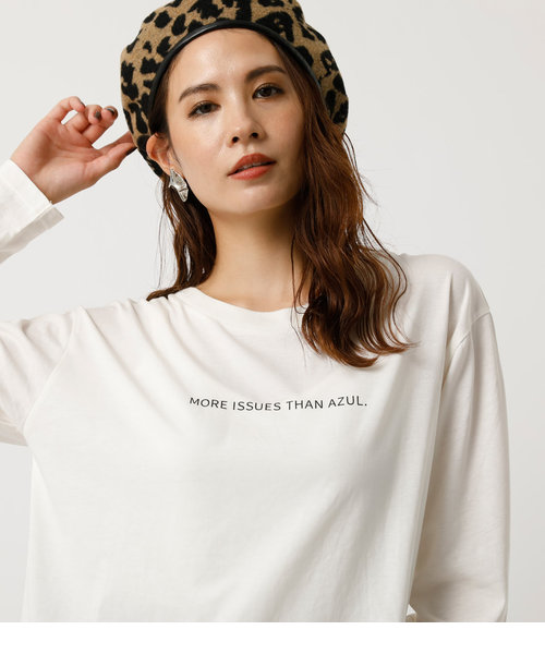 MORE ISSUES LONG SLEEVE