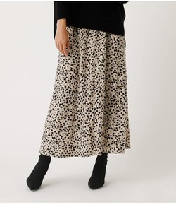 LEOPARD NARROW SKIRT