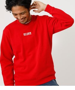 【MEN'S】NOT KNOW PULLOVER