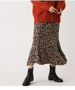 LEOPARD MERMAID SKIRT