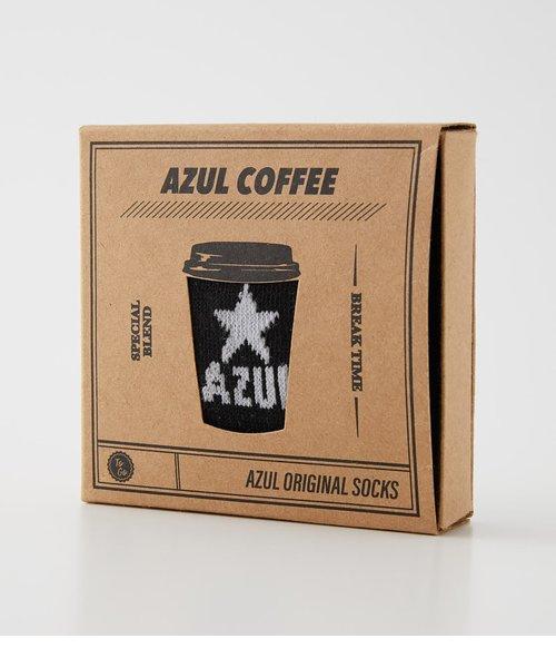 【MEN'S】COFFEE BOX STAR SOCKS