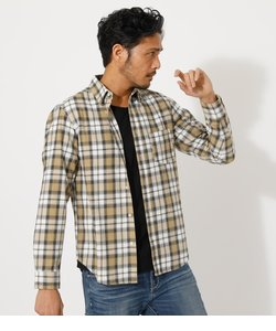 【MEN'S】FLANNEL CHECK SHIRT