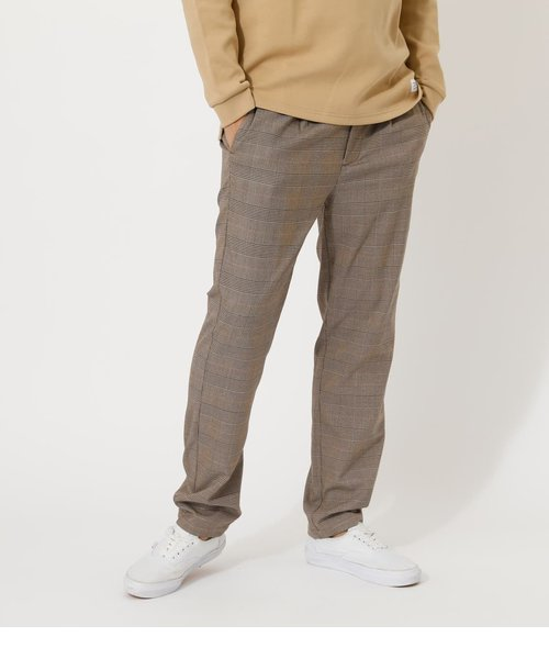 【MEN'S】GLEN CHECK SLACKS