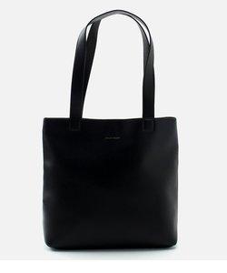 【MEN'S】ECO LEATHER BASIC TOTE BAG