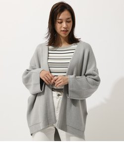 WIDE SLEEVE KNIT GOWN