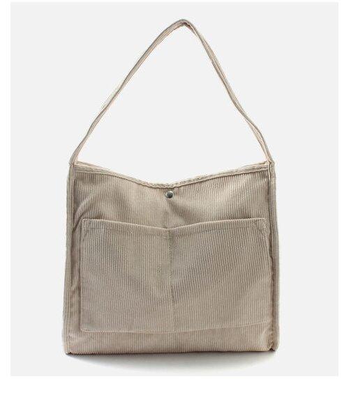 CORDUROY BIG TOTE BAG