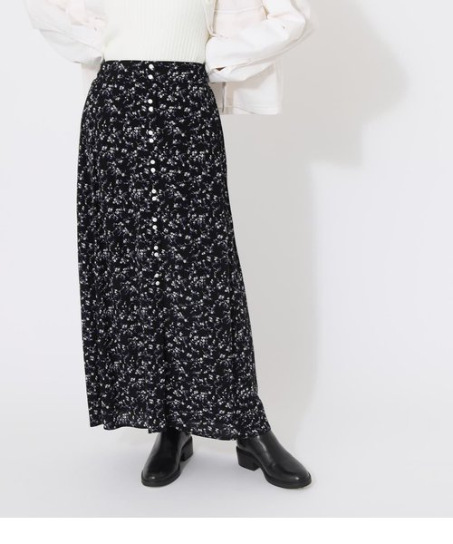 PEDICEL BUTTON SKIRT