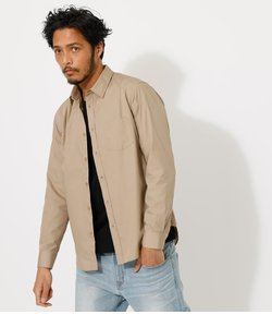 COTTON DUMP BASIC SHIRT