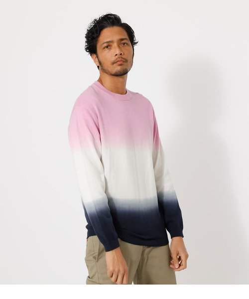 STEP DYEING COLOR KNIT