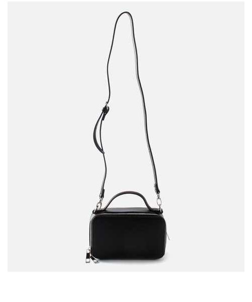 DOUBLE ZIP MINI SHOULDER BAG