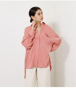 BIG POCKET DROP SHOULDER SHIRT