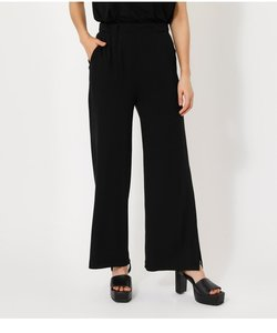 ICE CLEAN SIDE SLIT PANTS