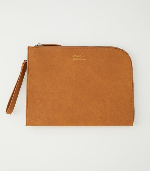 ECO LEAHTHER CLUTCH BAG