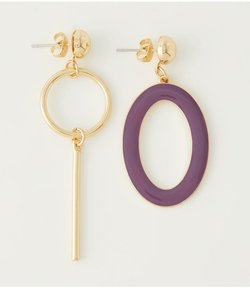 COLOR ASYMMETRY EARRING