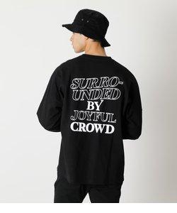 JOYFUL CROWD LONG TEE