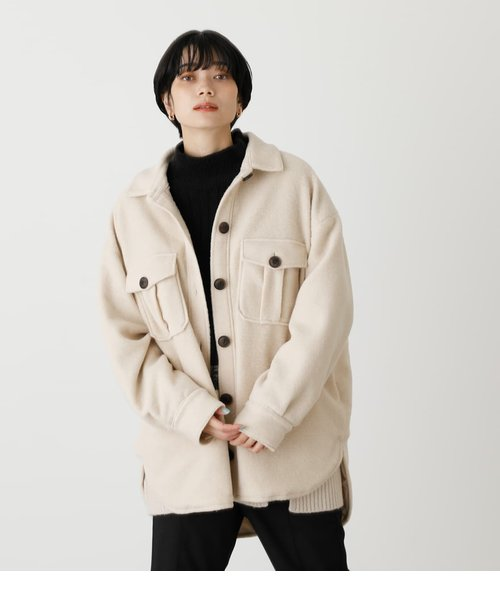 BOUCLE LOOSE CPO JACKET