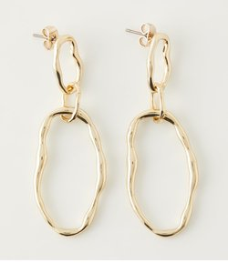 NUANCE ROUND EARRINGS