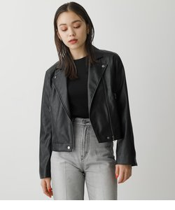 FAUX LEATHER RIDERS