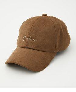 ECO SUEDE LOGO CAP