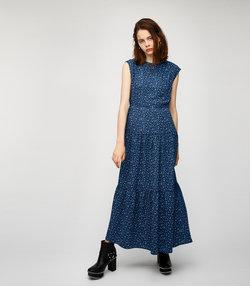 FALL FLOWER MAXI ドレス