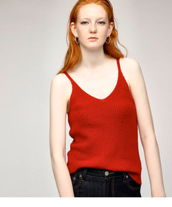 V NECK KNIT CAMI