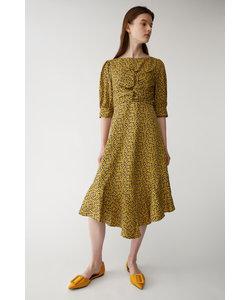 FLORAL PRINT FLARE ドレス